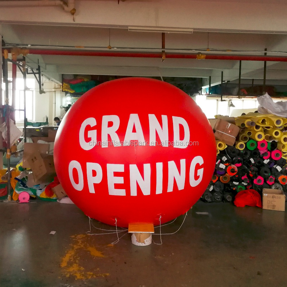 grand opening inflatable helium balloon for advertising