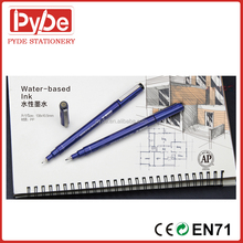 Needle drawing marker pen with thin tip 9 Kinds of tip