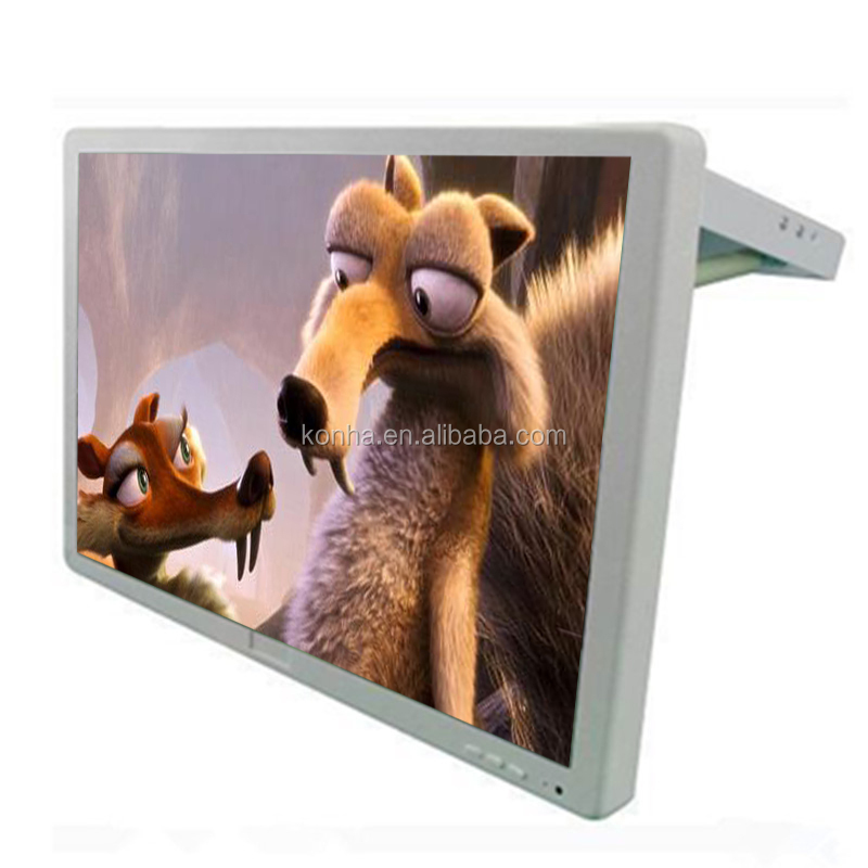 Hot sales 17inch bus/car lcd digital advertising screen display tv with wifi/3G