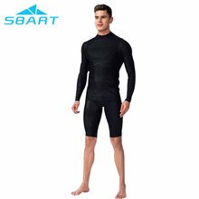 Shark skin long sleeve rashguard surfing and diving rash guard for men