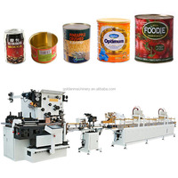 Food tomato tin can automatic making machine, Automatic food tin can making machine