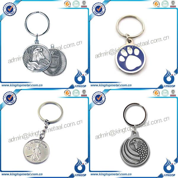 2017 cheap custom souvenir keychain with nail clipper