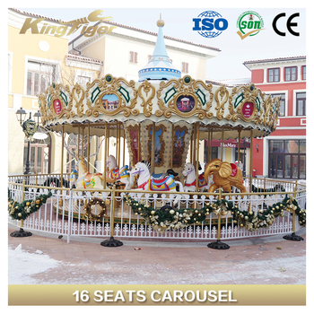amusement park equipment merry go round ride for sale