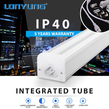 led tube lights 8ft Office Warm/Natural/Cool White 1200mm t5 double t5 led fluorescent tube light