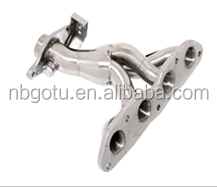 High quality custom turbo exhaust manifold made in Ningbo Fits Toyota Yaris 06+