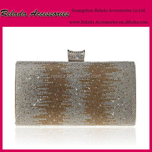 Factory Wholesale Crystal Bridal Party Evening purse handbag clutch bag case for ladies purse