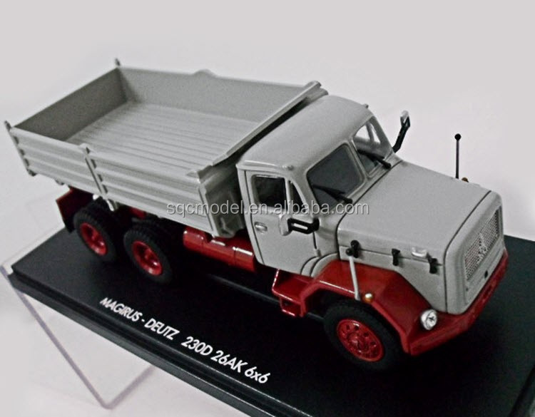 1 50 scale oem polyresin model tow trucks Magirus Deutz