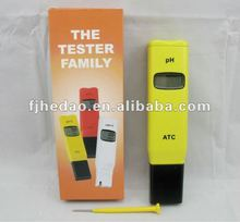 factory promotion!! High Accuracy Pen-type pH Meter + Calibration Solutions