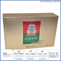 High Quality Luxury Rigid Packaging Box