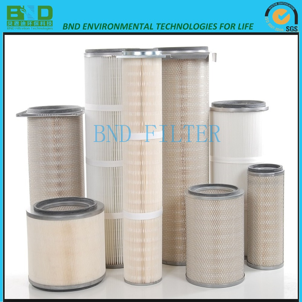 Cylindrical Filter Cartridge For Petrochemical Industry