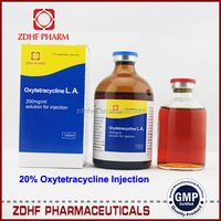 Veterinary Injectable (Antihistamine) Antibiotic Oxytetracycline Injection 5%,10%,30%