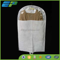 plastic and nonwoven garment bag
