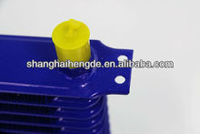 Universal oil cooler 8rows 300*105*50MM water cooled oil cooler