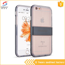 Popular style tpu pc 2 in 1 back cover for iphone 6splus
