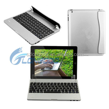 Luxury design Mini Untra-thin wireless bluetooth keyboard case with touchpad for ipad5