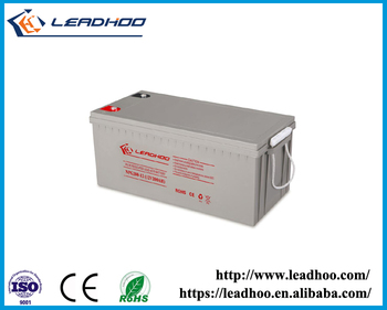 LEADHOO 12v 12ah ups battery with ISO CE ROHS UL Certificate