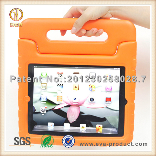 Super Protection Child Kid Proof EVA Foam tablet pc case for ipad 2