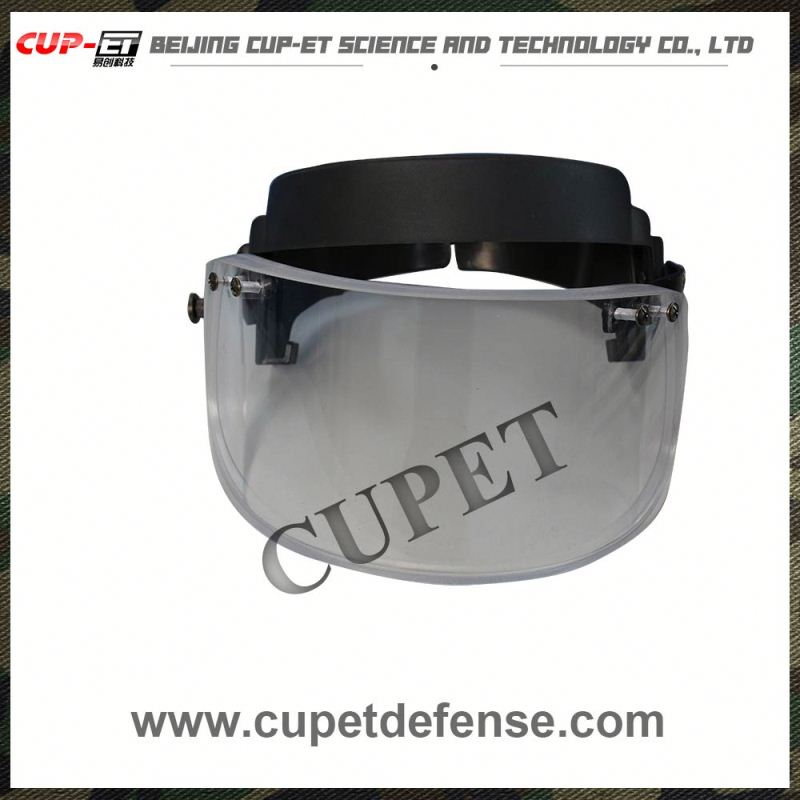 bulletproof custom full face helmets safety face shield riot visor