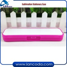 custom printed Blank Sublimation Stationary case,School Pencil Case/ box bag