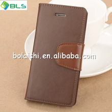 2014 new deaign PU wallet leather cell phone case for iphone5