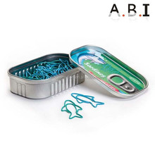 fish shaped paper clips with customized logo