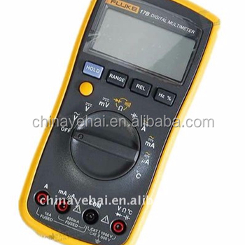 "Fluke 17B 2.6"" LCD Digital Multimeter Meter"