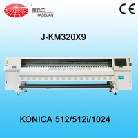 Large format Solvent Printing machine with Konica printhead