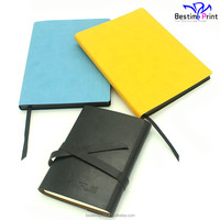 High Quality PU Leather Note Book School Note Book Printing Factory Cheap Printing Service
