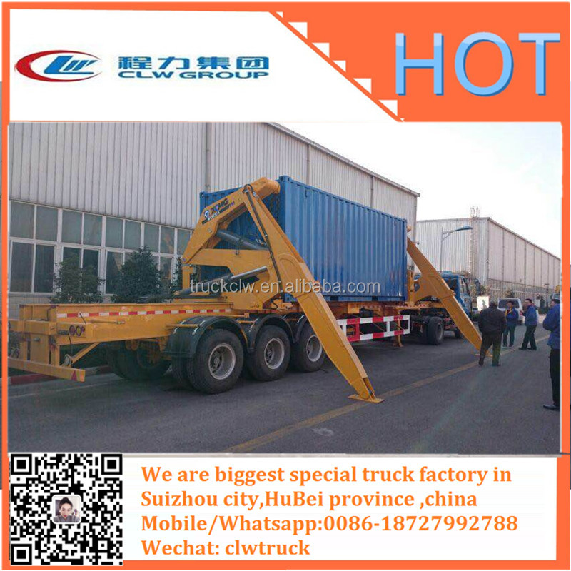 side loaders semi trailer container , self loading container transport trailer Side Loader Container Trailer