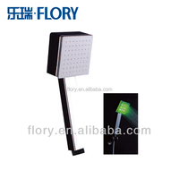 LED hand shower with square head design