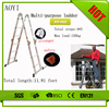 AY alibaba china supplier small building tools stairs for sale used hydraulic ladder price