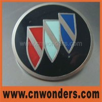 High quality customzied metal car badges emblems