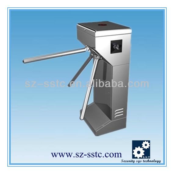 Deluxe electric turnstile/eletronic pedestrain turnstile with rfid reader
