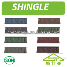 2016 new stone coated steel roof tile/corrugated metal roofing sheet