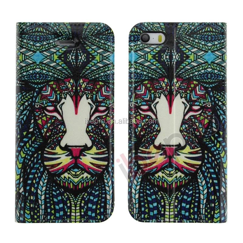 China Supplier 3D Animal Case for iPhone 5 , Tiger Patterns
