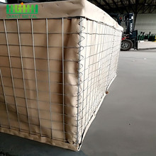 Alibaba express hot dipped galvanized weld defensive hesco barriers for military