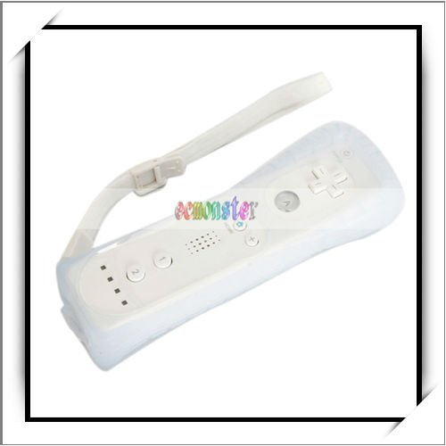 White Nunchuck Remote Controller For Nintendo Wii