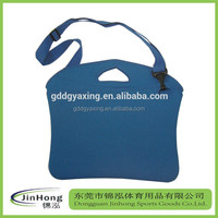 handle neoprene notebook tablet bag with strip,shoulder strip neoprene laptop case sleeve bag