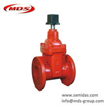 China ductile iron AWWA C509 NRS Non Rising Stem Resilient Seated Gate Valve