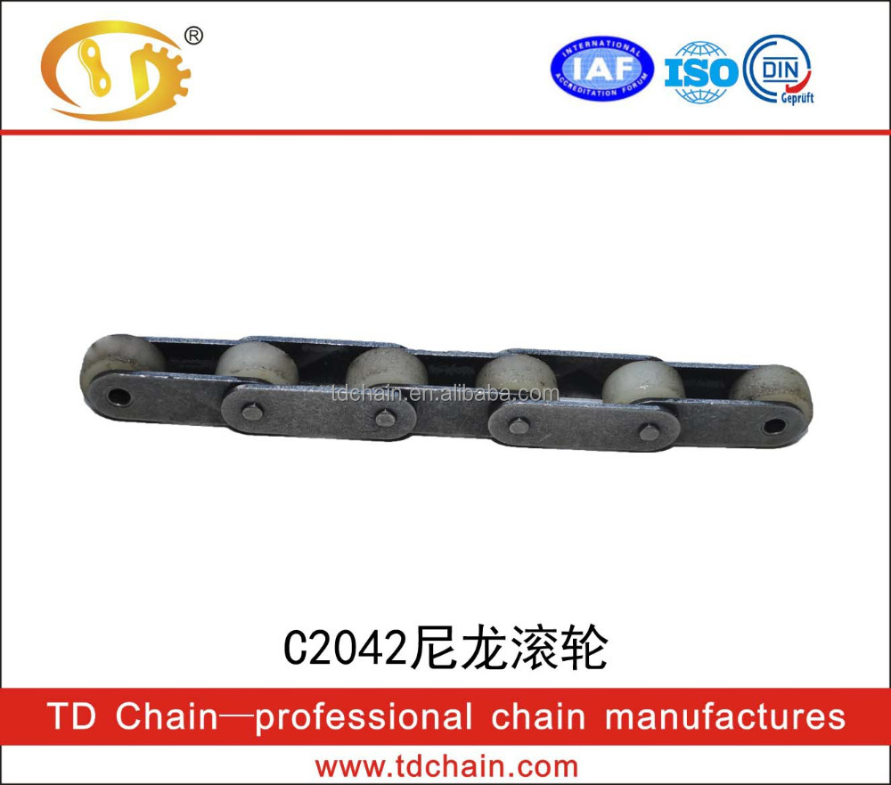 High intensity flexible drag conveyor Hotselling 40 Stainless Steel Roller Chain