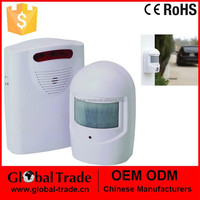 Wireless Driveway Alert System Door Chime Motion Sensor Hallway Alarm Security. H0055.