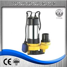 submersible 10kw sewage well water pump