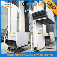 1M - 12M 250Kg Top Quality Hydraulic Home Lift with CE