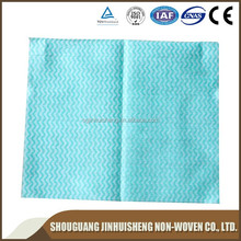Spunlace Nonwoven Household Dry Kitchen Cleaning Lint Free Wipes