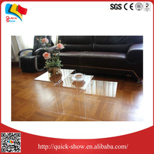 console dining acrylic table