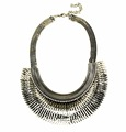 2017 necklace, fashionable large chunky metal necklaces, metal necklace make your own