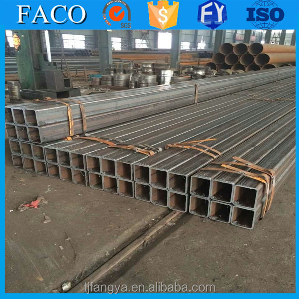Tianjin square rectangular pipe ! 40x50 steel square pipe different types of steel tubes factory