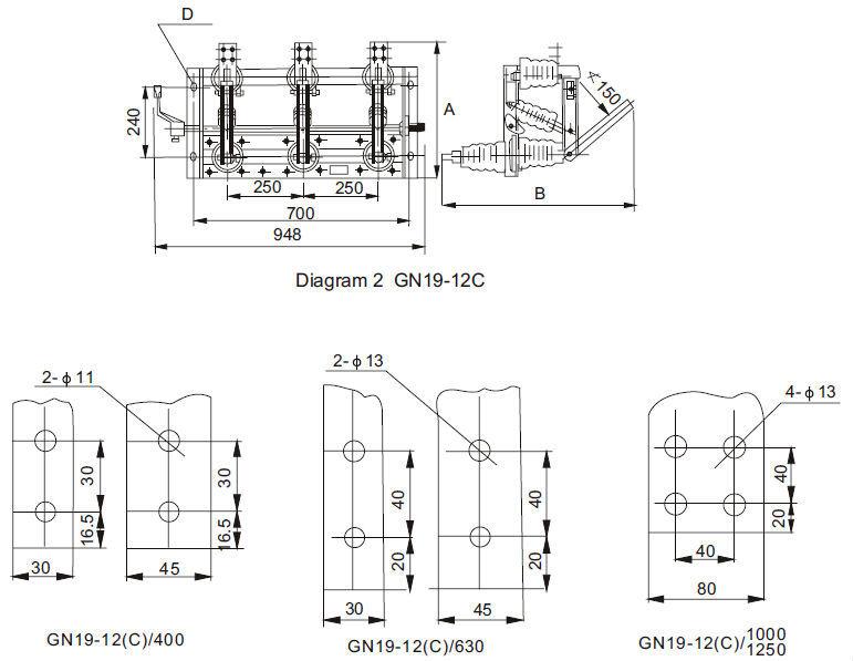 GN19-12 Outline dimension 02