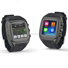 X01watch phone with mtk6261 cpu with google play store X01 and 3G military watches/smart watch for android phone with WIFI