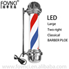 Factory Direct Supply LED Energy Saving Professional Rotating Barber Pole